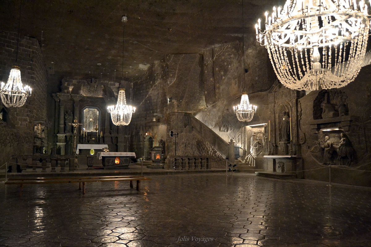 la mine de sel de Wieliczka