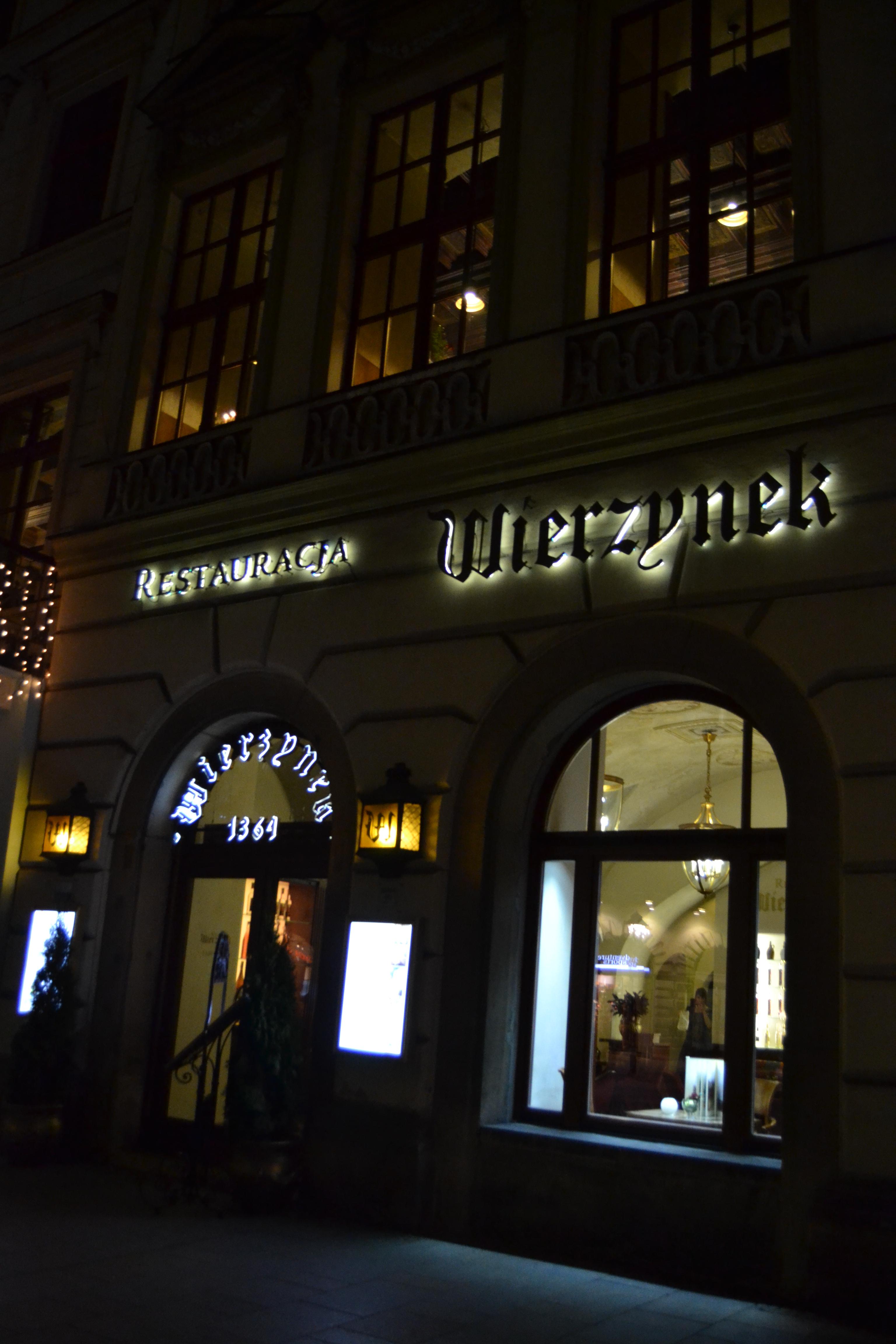 A table en Pologne #1 – Wierzynek ou le plus ancien restaurant de Cracovie