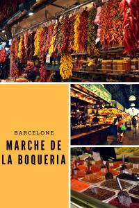 barcelone marché de la Boqueria