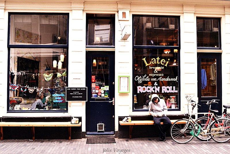 Latei resto brocante à Amsterdam