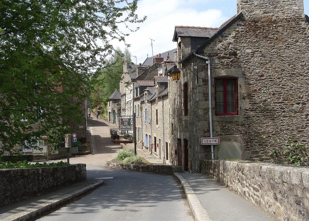 Chemin de halage au depart de Lehon Cotes Armor (8)