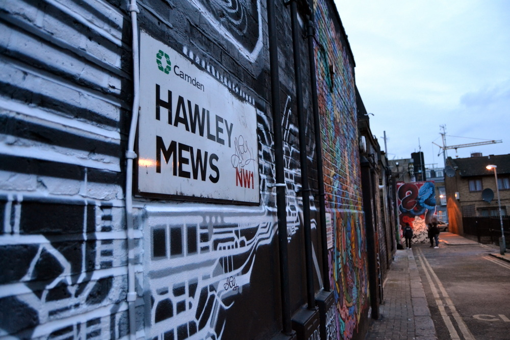 Balade photographique : Street Art Camden Town