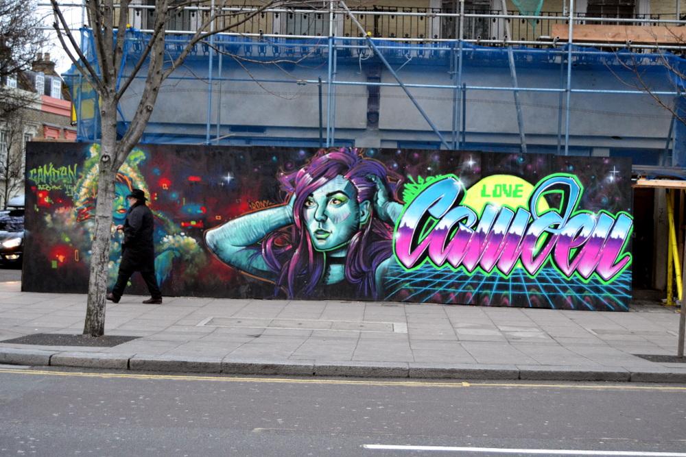 street art Camden Town Londres