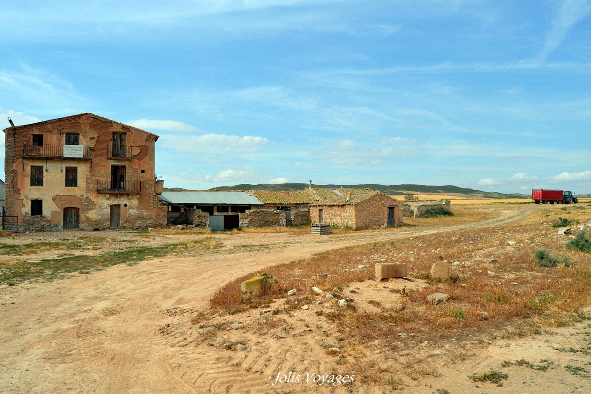 Visite du parc naturel Bardenas Reales