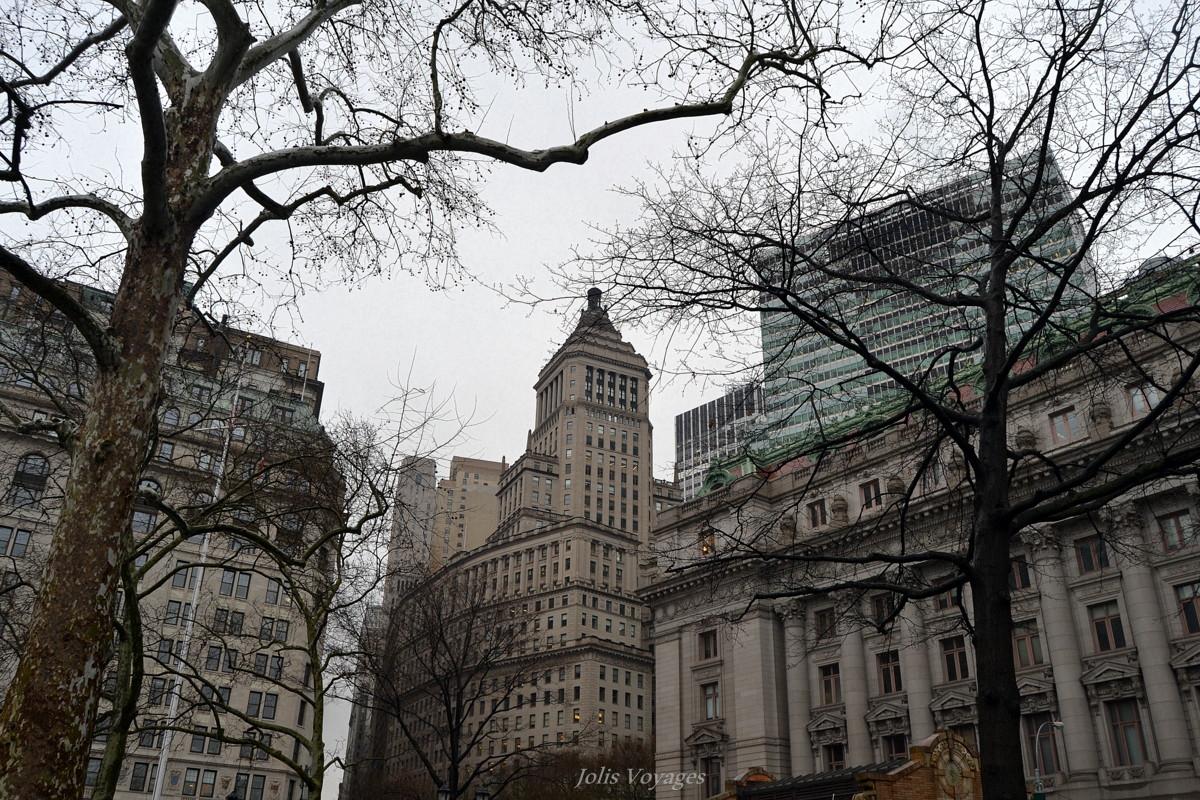 Une journee en escale a New York