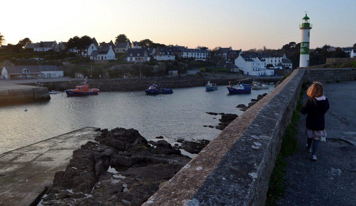 Doëlan, un port et deux phares