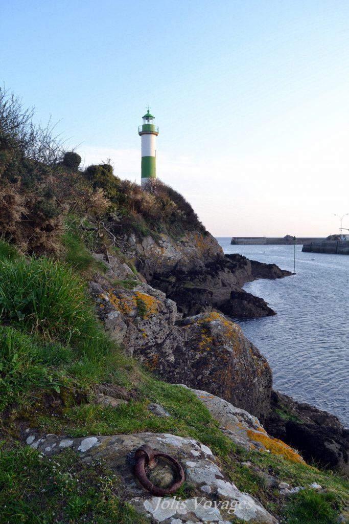 Doelan un port et deux phares
