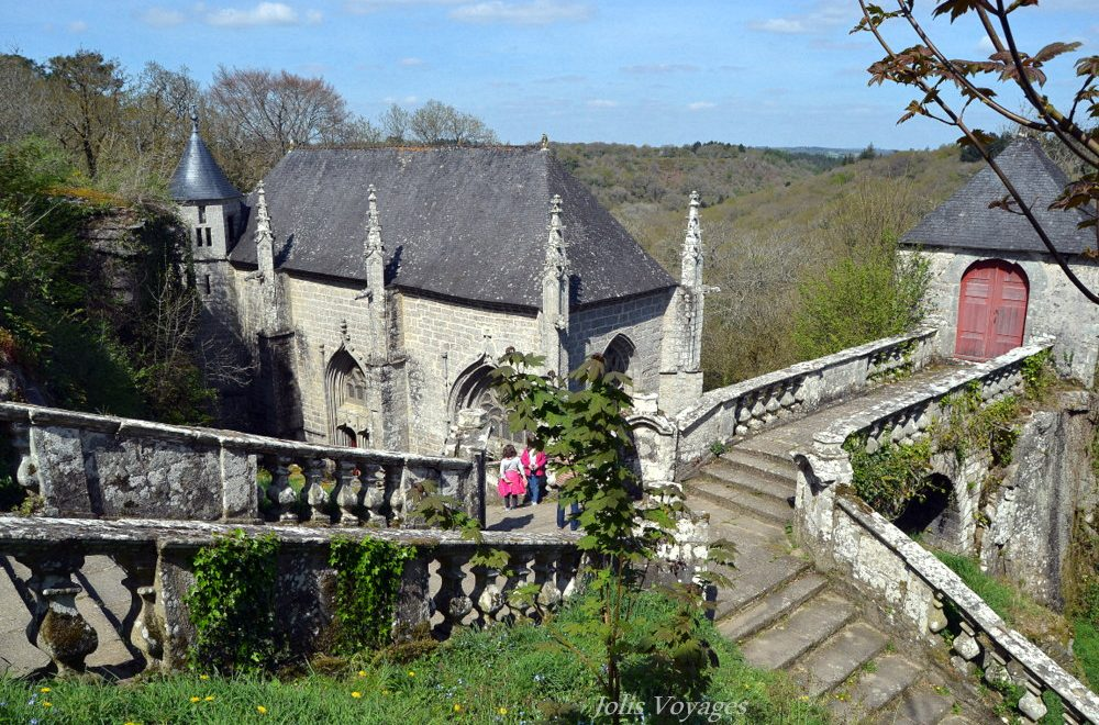 La chapelle Sainte-Barbe du Faouët, trésor morbihannais