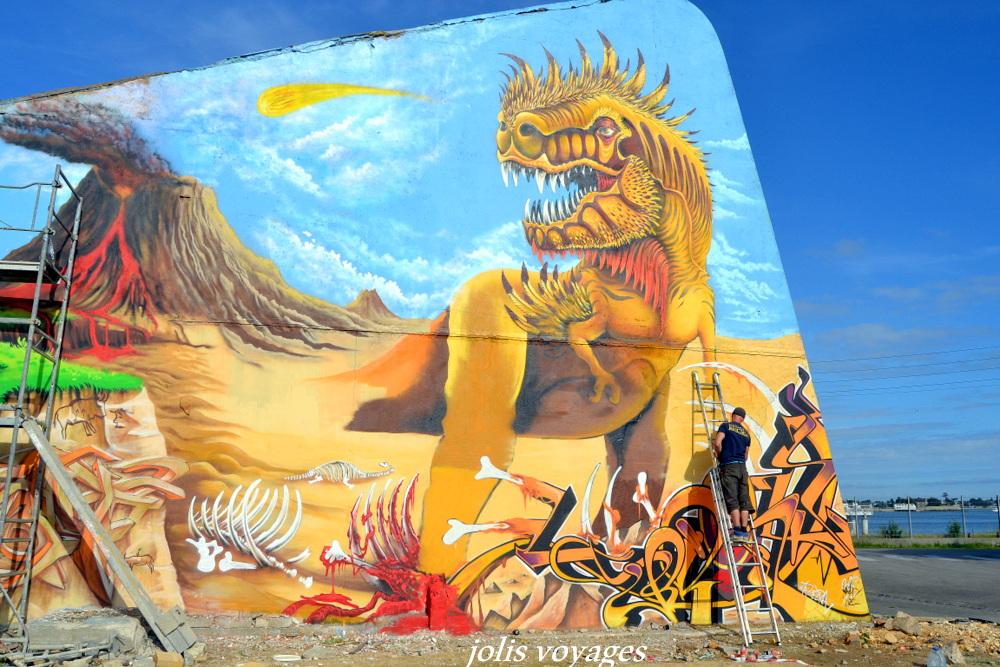 street art port de peche Lorient