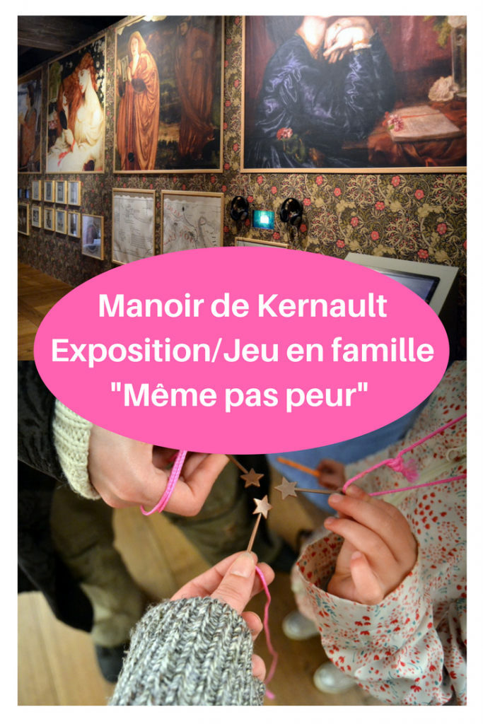Exposition Meme pas peur Manoir de Kernault