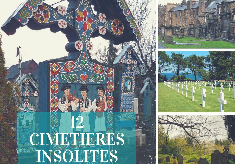 12 cimetières insolites d'Europe par 12 blogueurs voyage