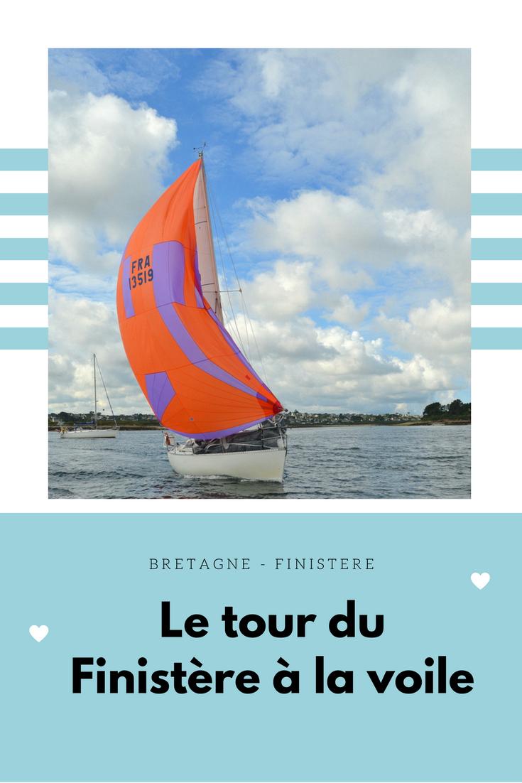Départ Tour Finistère voile
